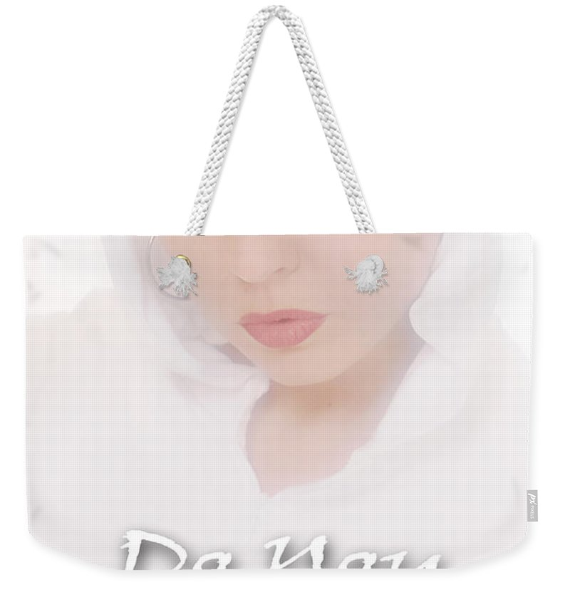 Clay Weekender Tote Bag featuring the photograph Do You Believe In Angels by Clayton Bruster