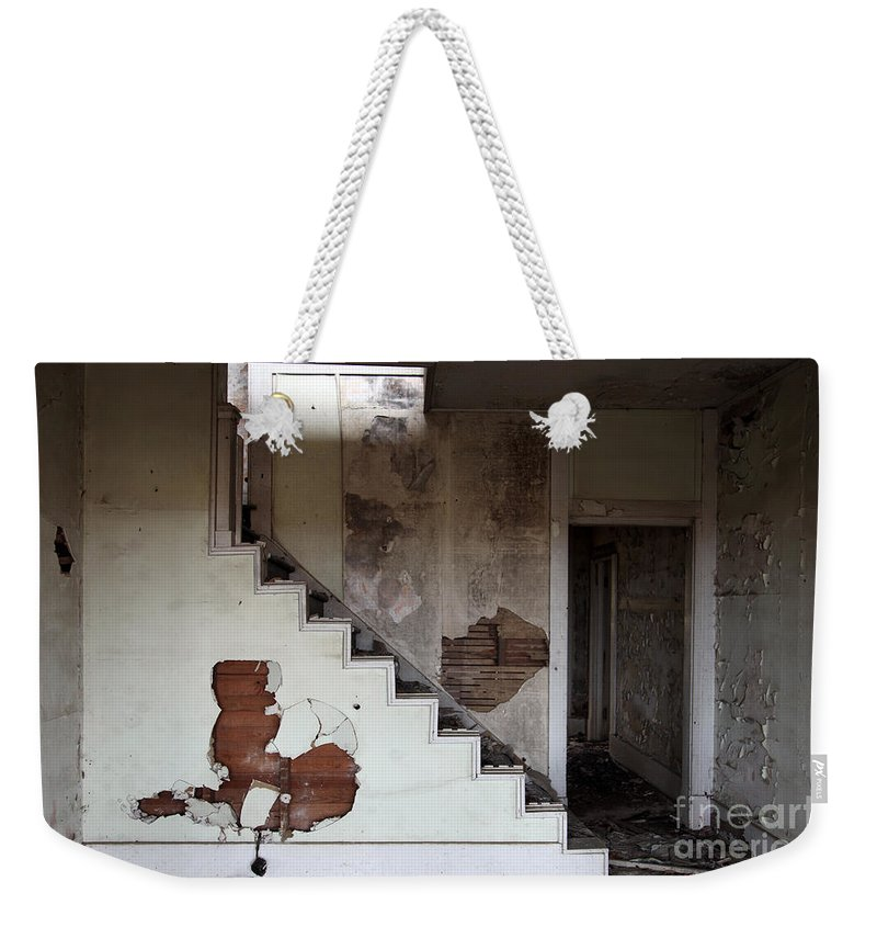 Do You Hear Me Weekender Tote Bag featuring the photograph Do You Hear Me Whispering by Amanda Barcon