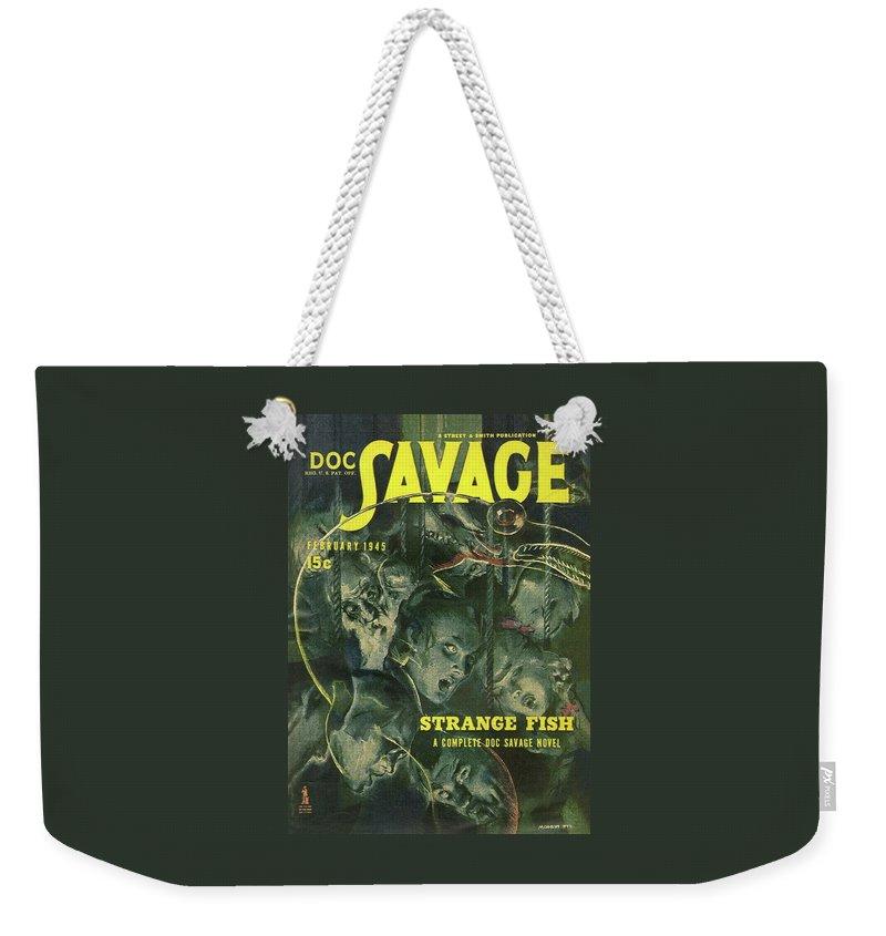 f98b0662 Doc Savage Strange Fish Weekender Tote Bag for Sale by Conde Nast