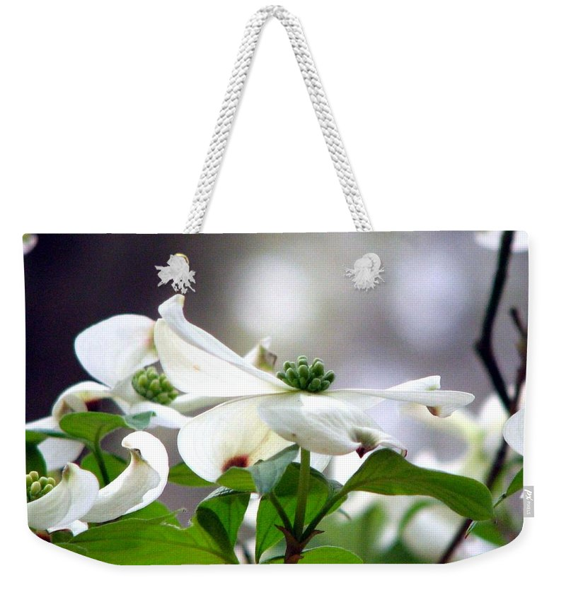 Dogwood Weekender Tote Bag featuring the photograph Dogwood by J M Farris Photography