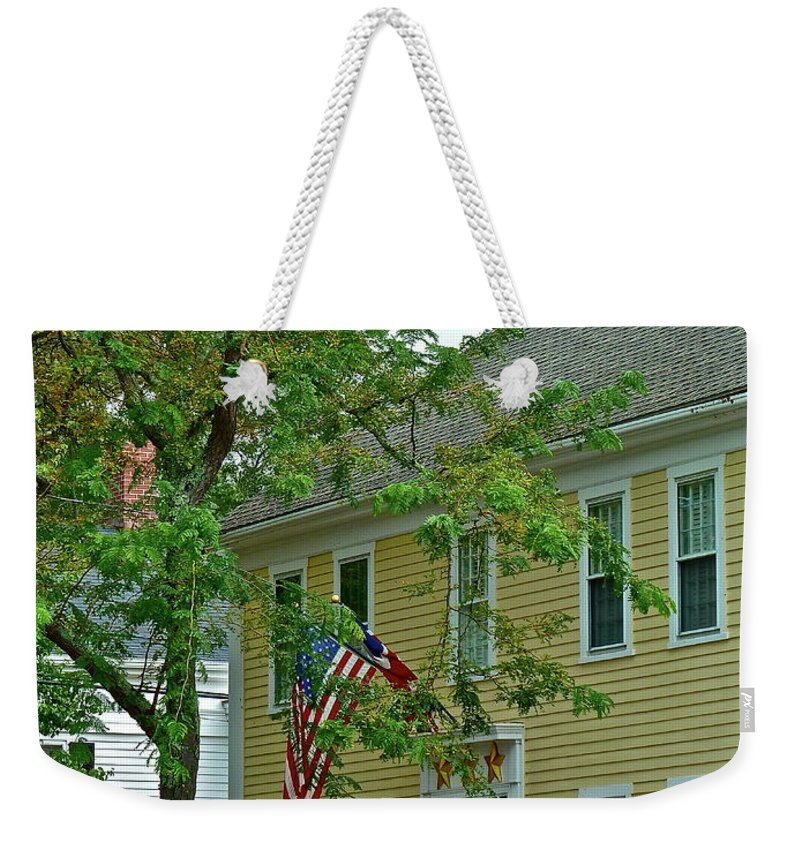 House Weekender Tote Bag featuring the photograph Doll House by Diana Hatcher