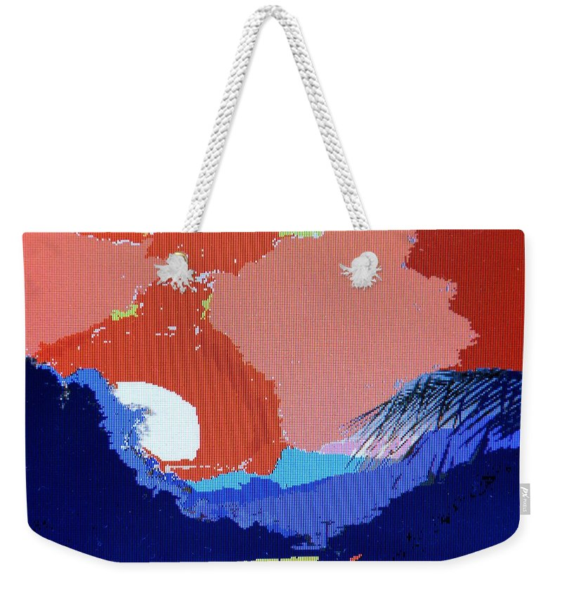 Digital Art Weekender Tote Bag featuring the photograph Dominican Sunset by Ian MacDonald