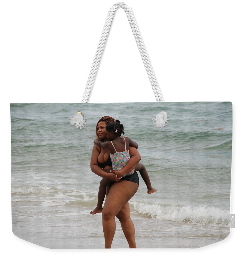 Sea Scape Weekender Tote Bag featuring the photograph Done For The Day by Rob Hans