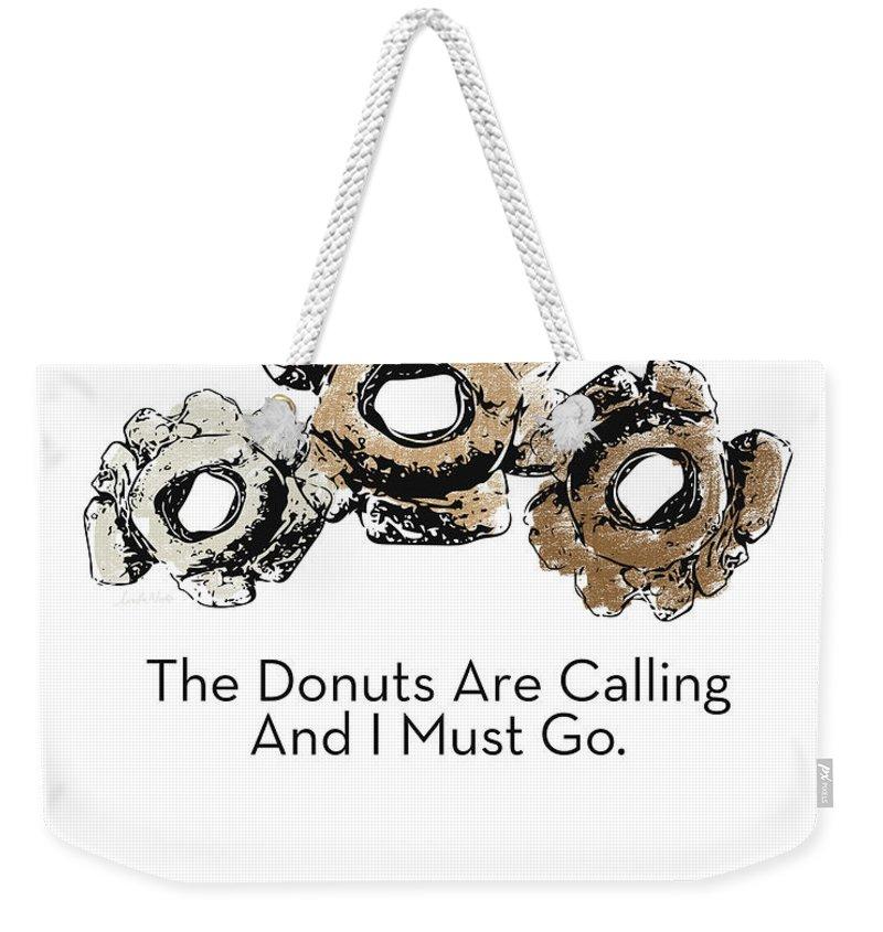 Glazed Weekender Tote Bags