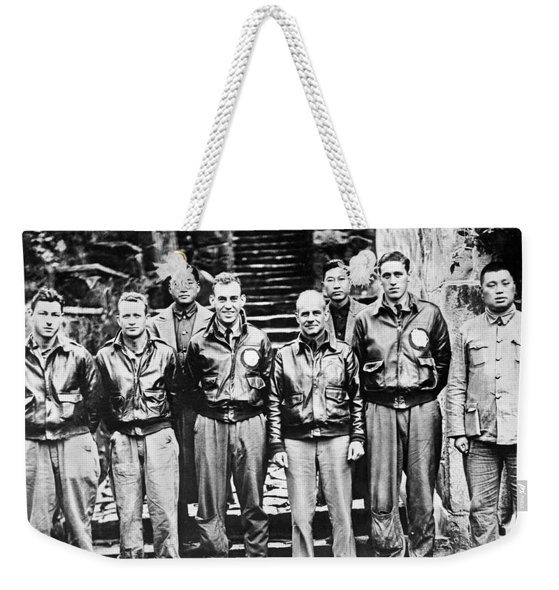 1943 Weekender Tote Bag featuring the photograph Doolittle's Raiders by American School