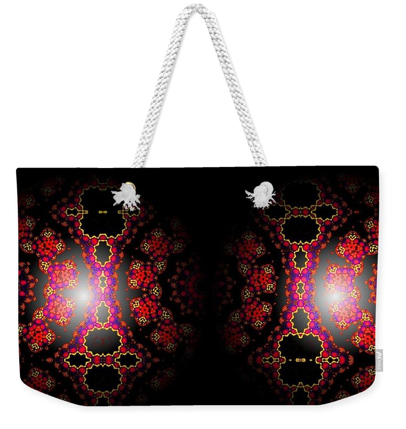 Sphere Weekender Tote Bag featuring the digital art Dope by Robert Orinski