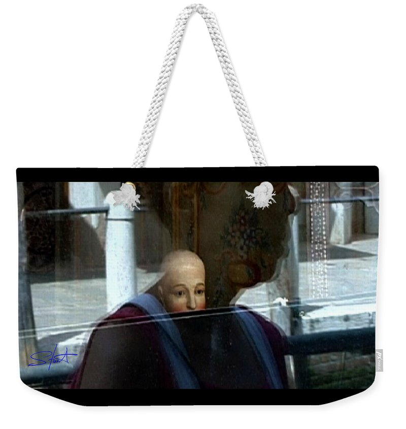 Venice Weekender Tote Bag featuring the photograph Dorsodouro by Charles Stuart