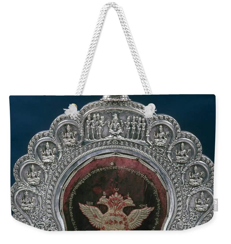 20th Century Weekender Tote Bag featuring the photograph Double Headed Eagle by Granger