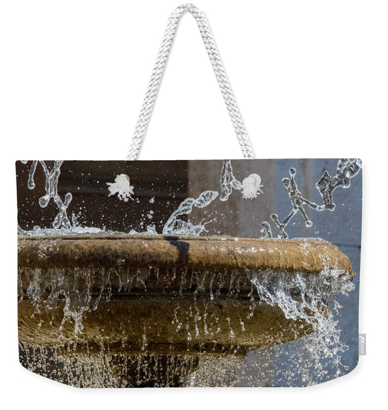 Abbazia Di Montecassino Weekender Tote Bag featuring the photograph Water Of The Doves by Joseph Yarbrough