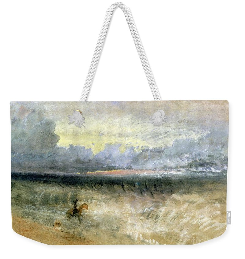 Dover Weekender Tote Bag featuring the painting Dover by Joseph Mallord William Turner