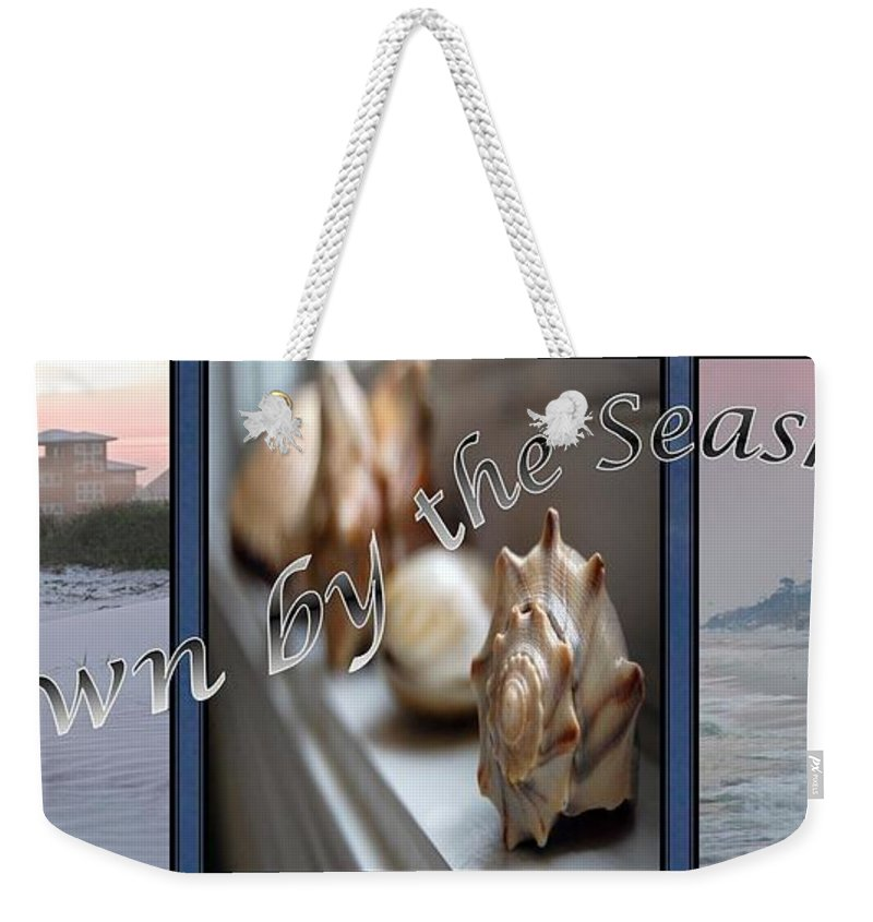 Shells Weekender Tote Bag featuring the digital art Down By The Seashore by Robert Meanor