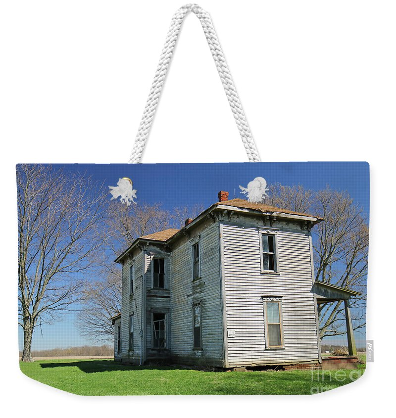 Farm Weekender Tote Bag featuring the photograph Down On The Farm by Steve Gass