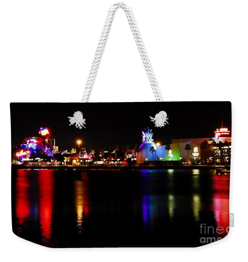 Downtown Disney Weekender Tote Bag featuring the photograph Downtown Disney by David Lee Thompson