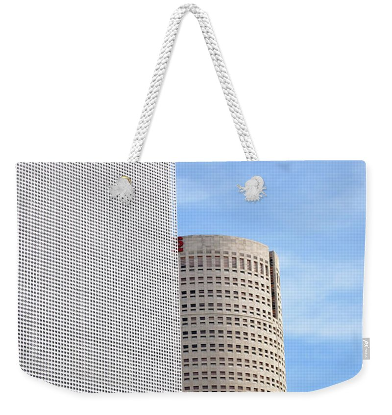Downtown Weekender Tote Bag featuring the photograph Downtown Tampa by Jost Houk