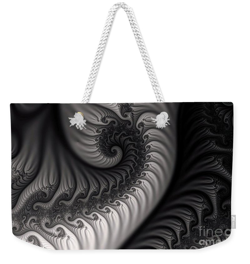 Clay Weekender Tote Bag featuring the digital art Dragon Belly by Clayton Bruster