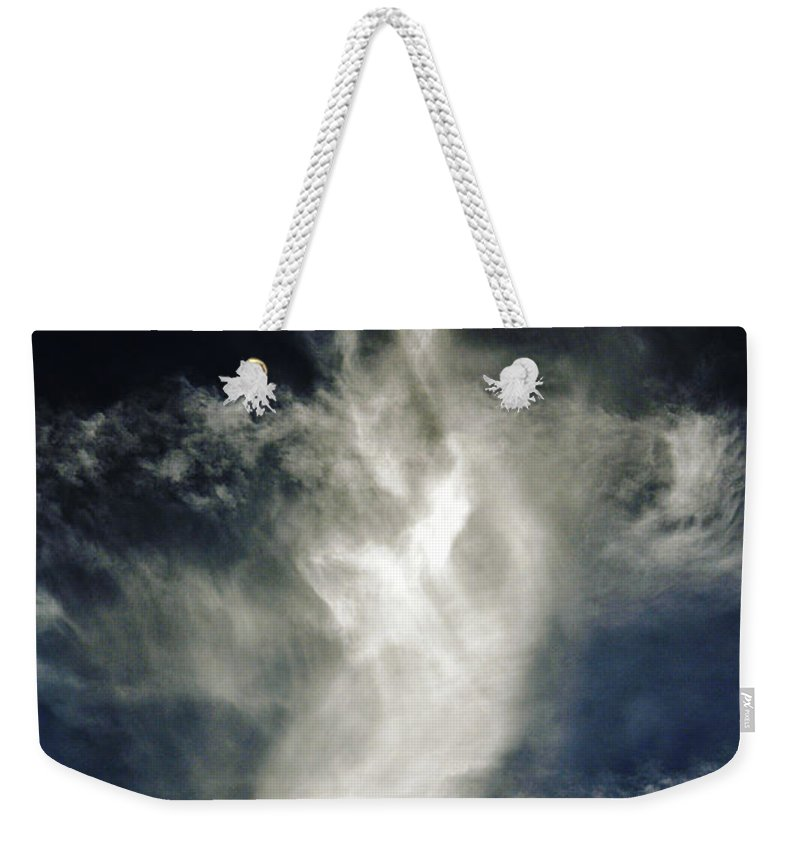 Clay Weekender Tote Bag featuring the photograph Dragon Cloud by Clayton Bruster