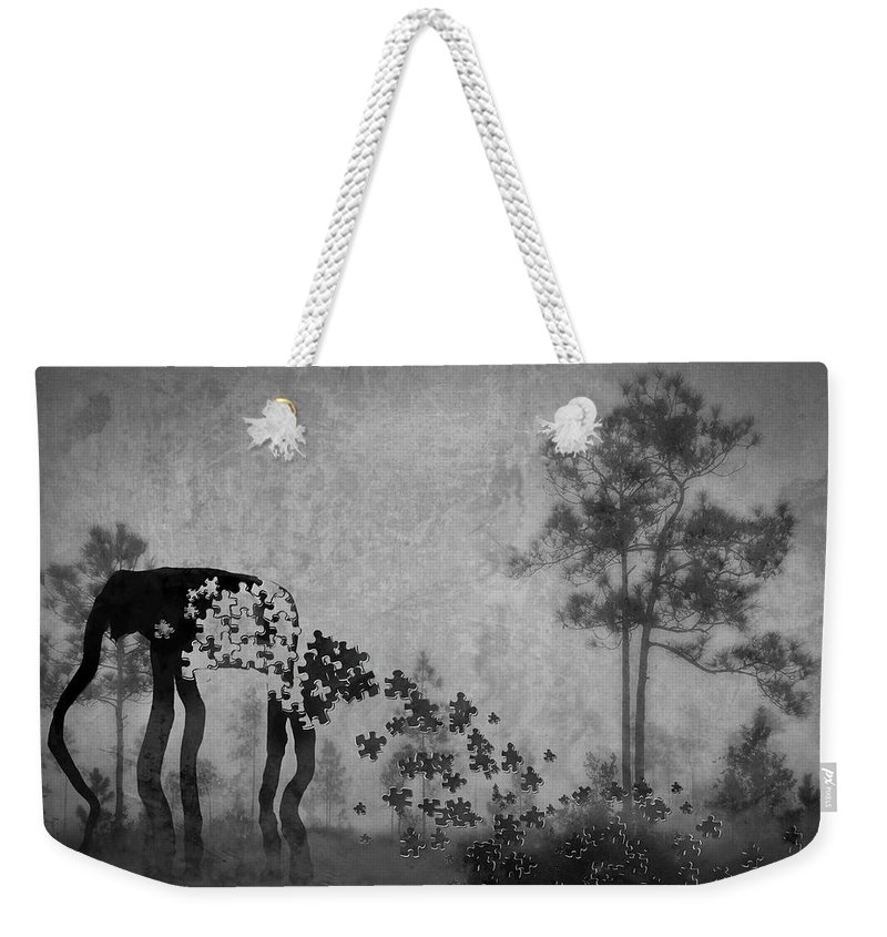 Landscape Weekender Tote Bag featuring the photograph Dream 5111a by Rudy Umans