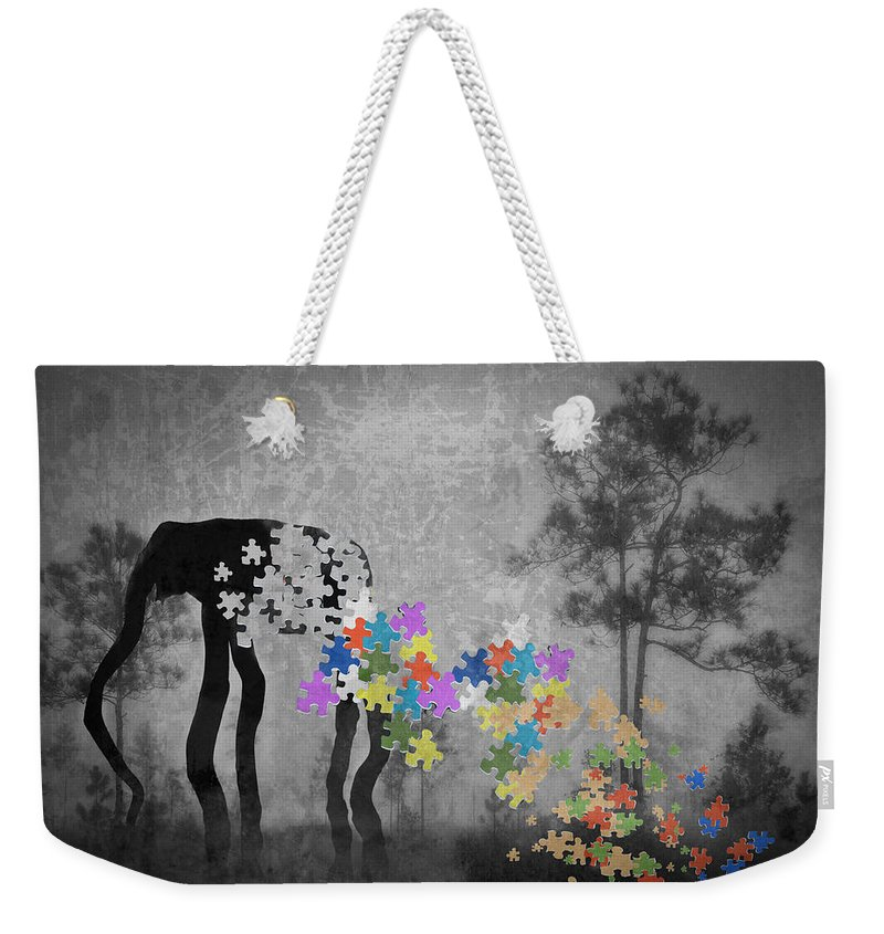 Landscape Weekender Tote Bag featuring the photograph Dream 5111b by Rudy Umans