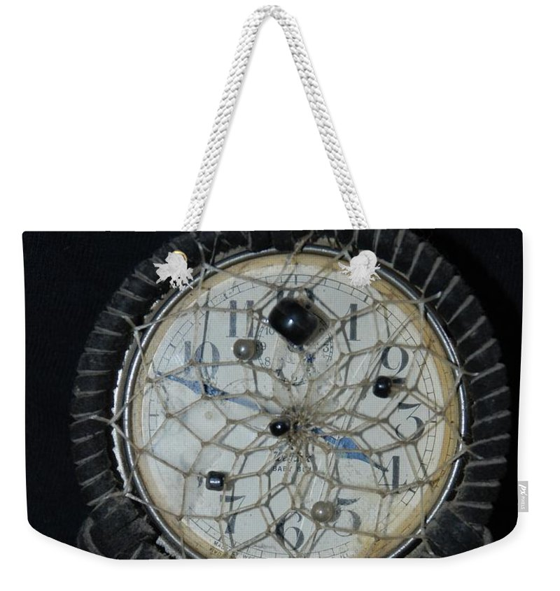 Dream Catcher Weekender Tote Bag featuring the photograph Dream Catcher Time by Rob Hans