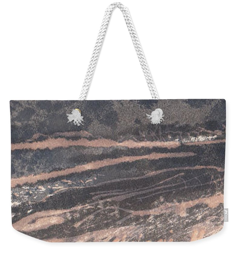 2017 Weekender Tote Bag featuring the drawing Dream Country by Melanie Meyer