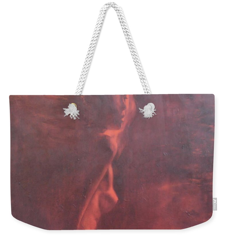 Ignatenko Weekender Tote Bag featuring the painting Dream In Hot Night by Sergey Ignatenko