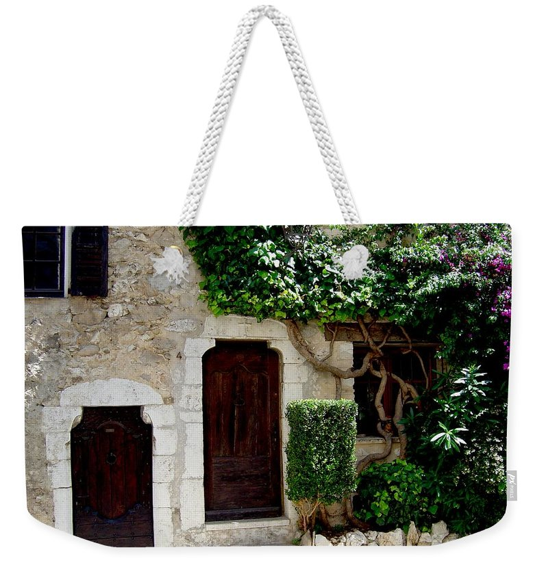 Italy European Home Doorways Weekender Tote Bag featuring the photograph Dream On by Joanne Smoley
