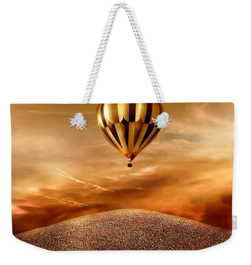 Golden Weekender Tote Bag featuring the photograph Dream by Jacky Gerritsen