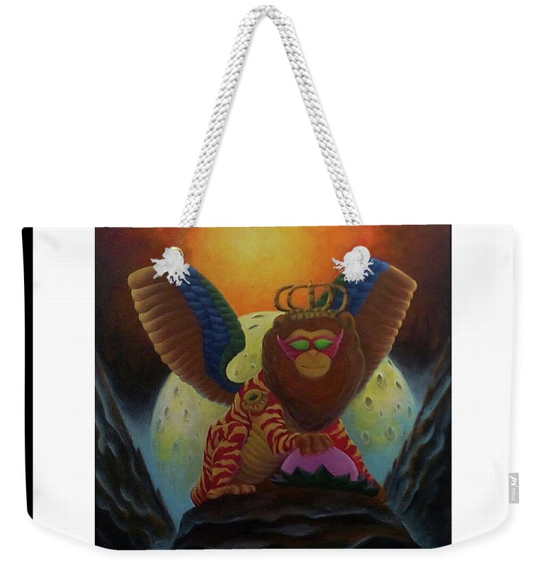 Surrealism. ... Weekender Tote Bag featuring the painting Dream by ROhit Ramanuj