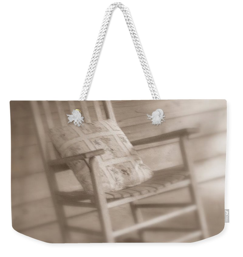 Chair Weekender Tote Bag featuring the photograph Dream Time by Susanne Van Hulst