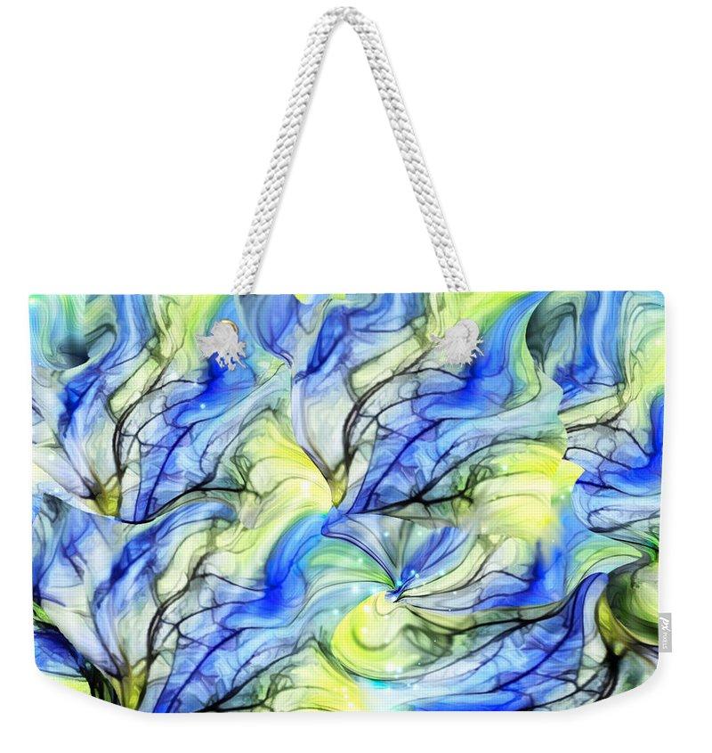 Tree Weekender Tote Bag featuring the digital art Dreamer Tree by SomeDay Pii
