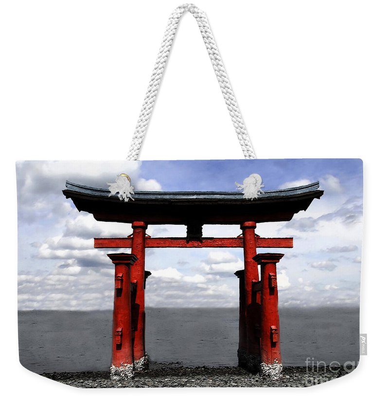 Japan Weekender Tote Bag featuring the photograph Dreaming In Japan by David Lee Thompson
