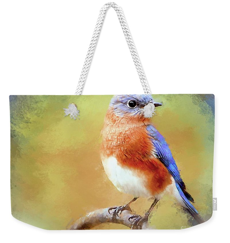 Bluebird Weekender Tote Bag featuring the photograph Dreaming Of Prince Charming by Tina LeCour