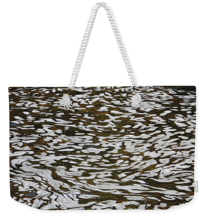 River Weekender Tote Bag featuring the photograph Dreams by Kelly Mezzapelle