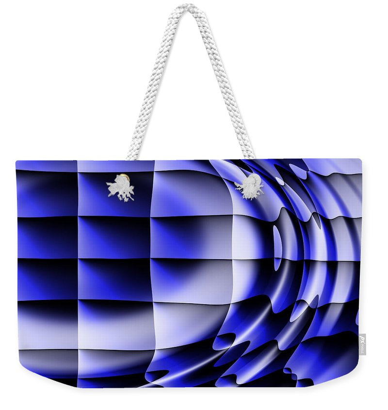 Squares Weekender Tote Bag featuring the digital art Dreams by Robert Orinski