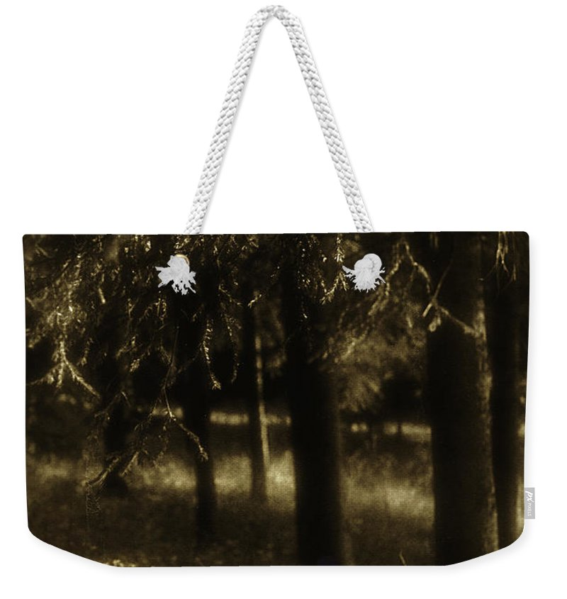 Trees Weekender Tote Bag featuring the photograph Dreamscape by Madeline Ellis