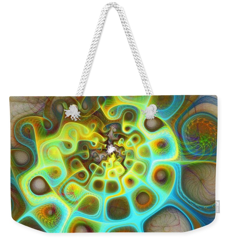 Digital Art Weekender Tote Bag featuring the digital art Dreamscapes by Amanda Moore