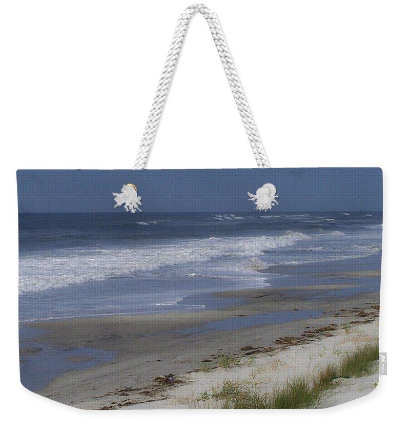 Ocean Weekender Tote Bag featuring the photograph Dreamy Beach In North Carolina by Teresa Mucha