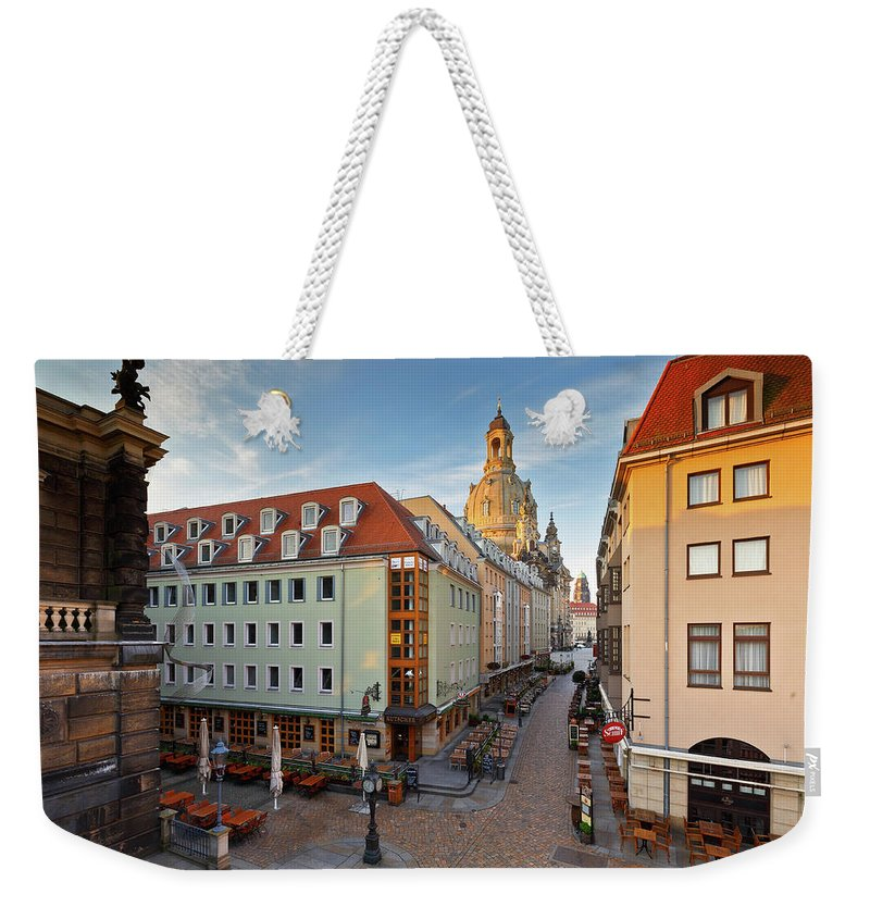 Germany Weekender Tote Bag featuring the photograph dresden 'VI by Milan Gonda