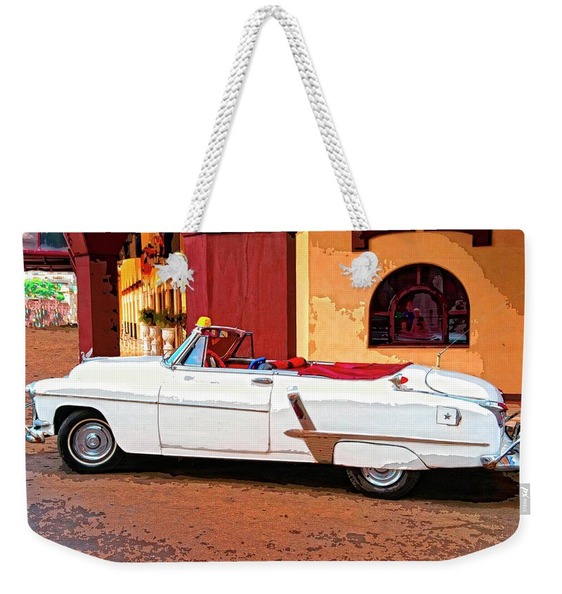 Dressed Up Weekender Tote Bag featuring the mixed media Dressed Up by Dominic Piperata