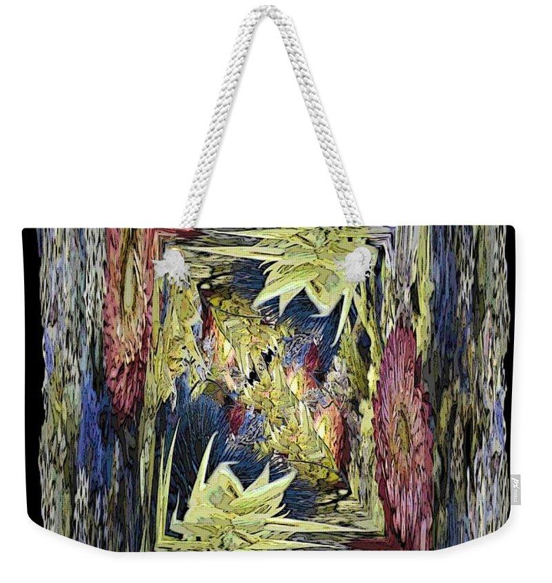Dried Weekender Tote Bag featuring the digital art Dried 2 by Tim Allen