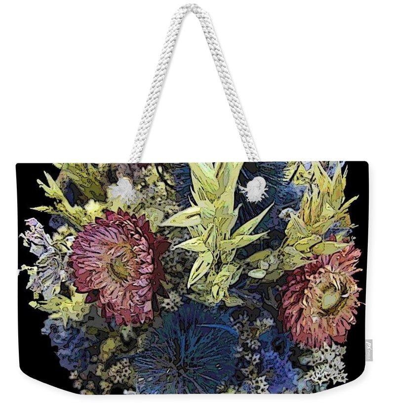 Dried Weekender Tote Bag featuring the digital art Dried by Tim Allen