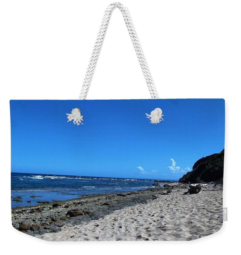 Beach Weekender Tote Bag featuring the photograph Drifting On The Beach In Dominican Republic by Robert Smith