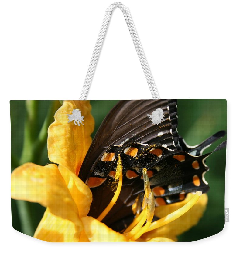 Nature Weekender Tote Bag featuring the photograph Drink It In by Marla McFall