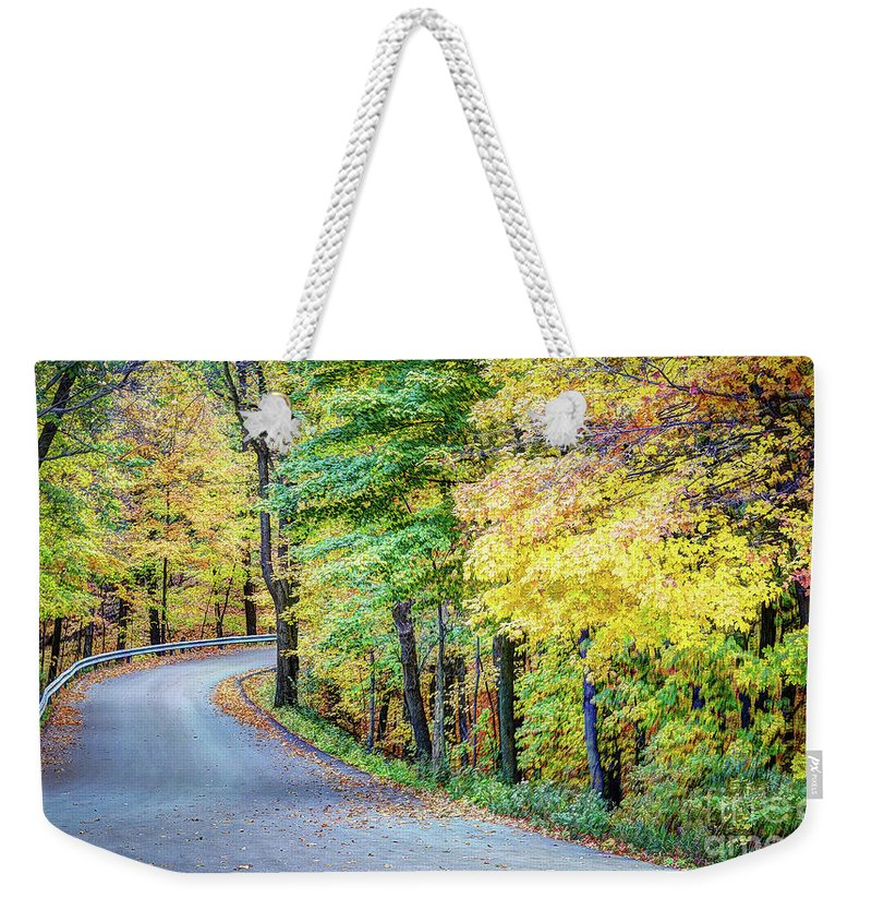 Old Weekender Tote Bag featuring the photograph Drive by Deborah Klubertanz