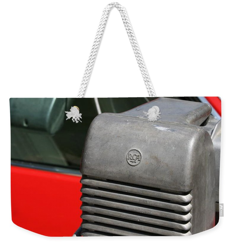 Photograph Weekender Tote Bag featuring the photograph Drivein by Gwyn Newcombe