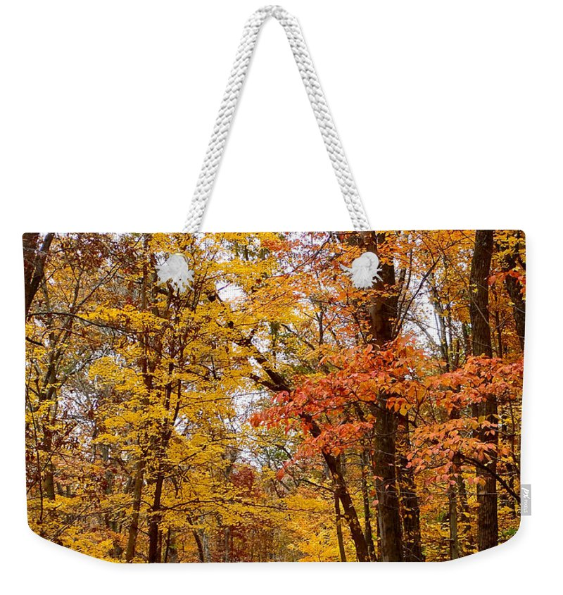 back Road Weekender Tote Bag featuring the photograph Driving Home by Mother Nature