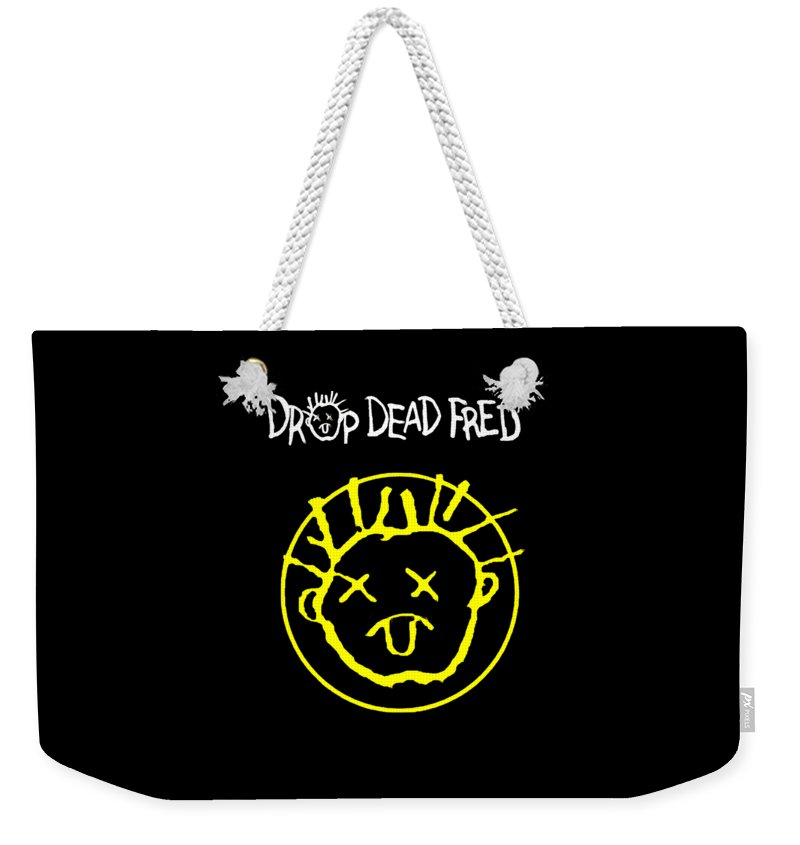 Drop Dead Fred Weekender Tote Bag For Sale By Gina Anjani