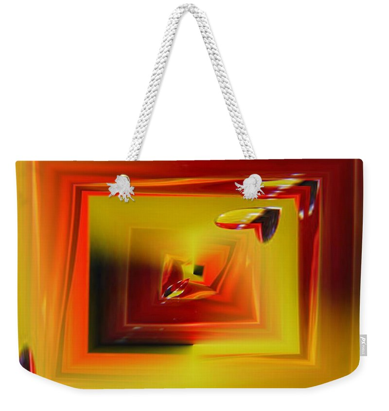 Droplets Weekender Tote Bag featuring the photograph Droplets by Tim Allen