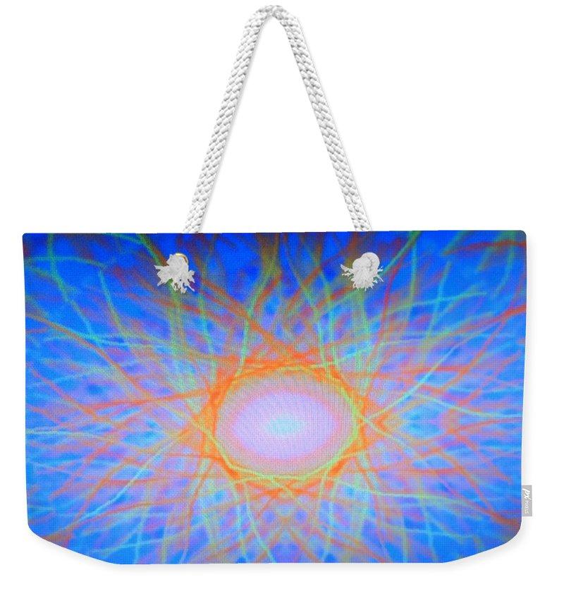 Digital Art Weekender Tote Bag featuring the digital art Dsc01648 by Ralph Root