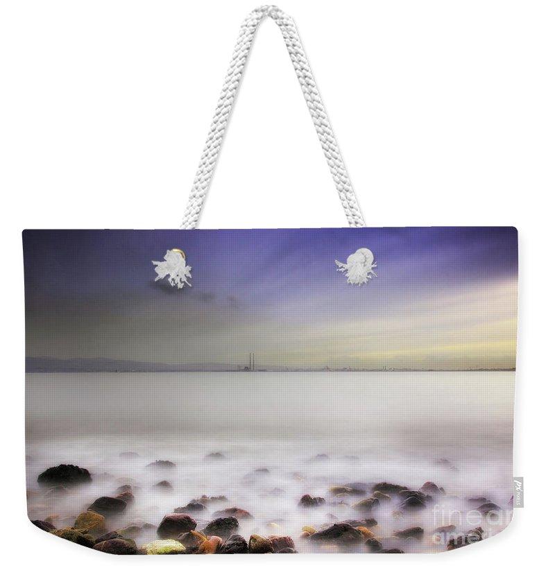 Fine Art Weekender Tote Bag featuring the photograph Dublin Bay by Sinclair Adair